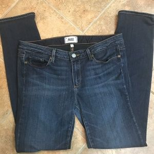 Paige Skyline Skinny Jeans in Twilight